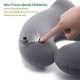Travel pillow cushion Cervical inflatable ergonomic comfort Kit
