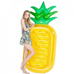 Matelas Gonflable Ananas Pour Plage Piscine