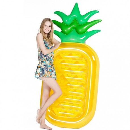Inflatable Pool Beach Pineapple Air Mattress