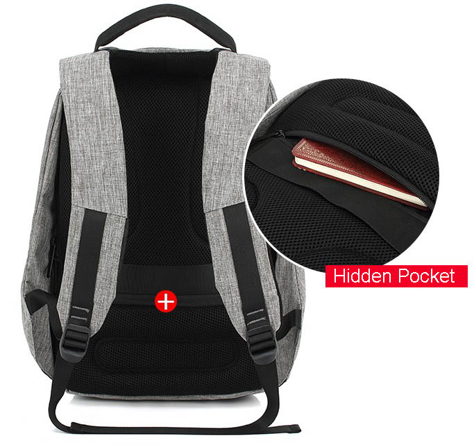 backpack hidden pocket