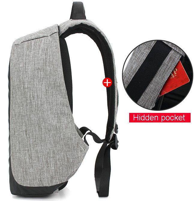 backpack hidden storage